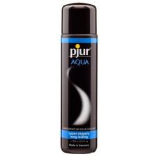 Лубрикант на водной основе pjur Aqua 100 мл, эффект бархатистой кожи без прилипания