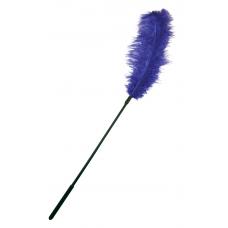 Перо страуса Sportsheets Ostrich Tickler Фиолетовое, для изысканных ласк