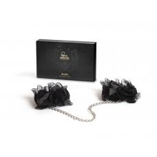 Наручники Bijoux Indiscrets - Frou Frou Organza handcuffs, атлас и органза, подарочная упаковка