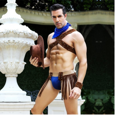 Мужской эротический костюм ковбоя