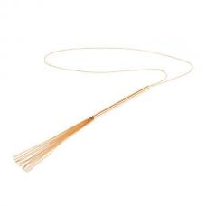 Цепочка плеть на шею Bijoux Indiscrets MAGNIFIQUE Necklace Whip - Gold, украшение для тела