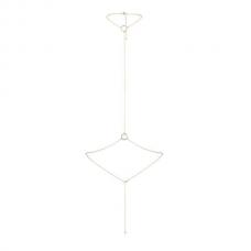 Цепочка на шею и пояс Bijoux Indiscrets Magnifique I Body Chain - Gold, украшение на тело