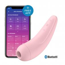 Вакуумный клиторальный стимулятор Satisfyer Curvy 2+ Pink