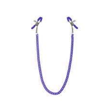 Зажимы для сосков с цепочкой Feral Feelings - Nipple clamps Classic, фиолетовый